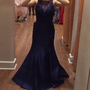 Dresses & Skirts - Navy Blue Formal Dress